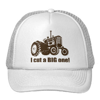 Funny I Cut A Big One Mesh Hat