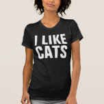Funny I like cats crazy cat lady cat lover hipster