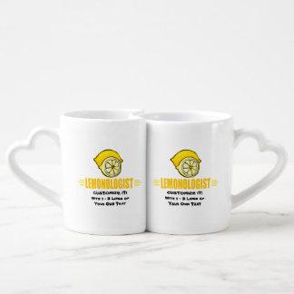 Funny I Love Lemons Lovers Mug