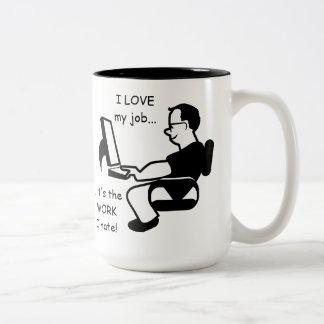 Funny I Love my Job but Mug
