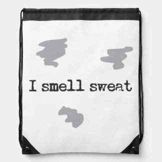 Funny I smell sweat © Sports Humor Drawstring Bag