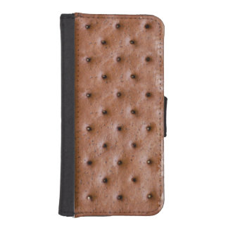 Funny Ice Cream Sandwich Phone Wallet Case