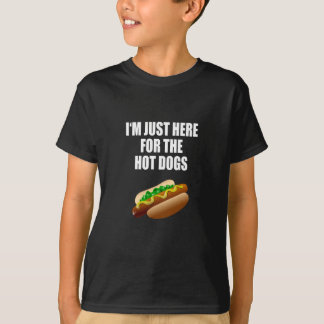 Funny: I'm just here for the Hot Dogs. BBQ T-Shirt