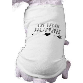 Funny: I'm with Human Shirt