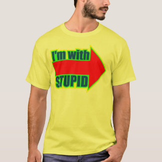 Funny I'm With Stupid T-shirts Gifts