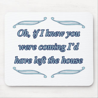 funny insult mouse pad