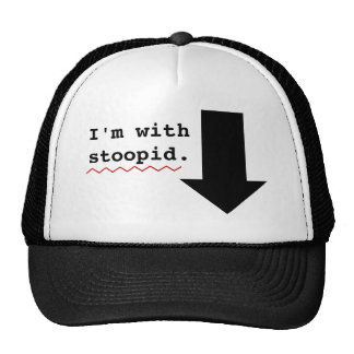 Funny Insults Im With Stupid Person Spell Check Cap
