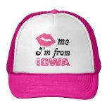 Funny Iowa Cap