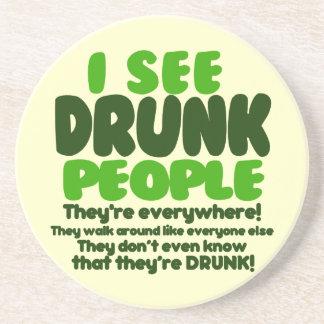 Funny Irish Beer Drinking Drink Coasters