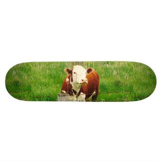 Funny Ironic Cow 4André Custom Skateboard