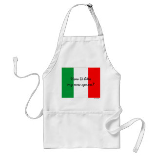 Funny Italian Cook Apron