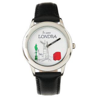 Funny Italian Londra London Love Unique Stylish Watch