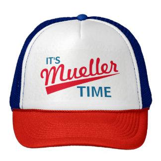 "Funny ""It's Mueller Time"" Cap"