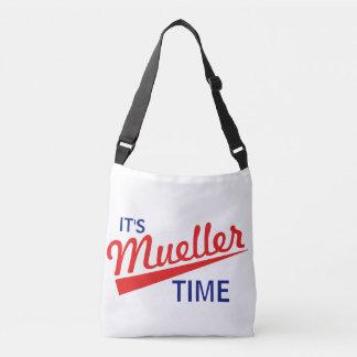 "Funny ""It's Mueller Time"" Crossbody Bag"