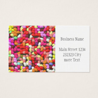 funny Jelly Mix Business Card