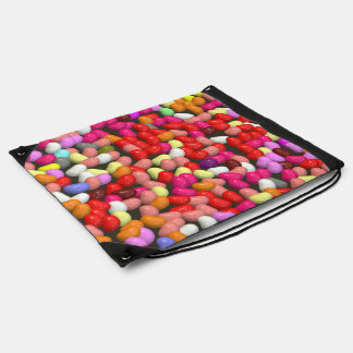 funny Jelly Mix Drawstring Bag