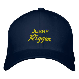 Funny Jerry Rigger Embroidered Hat