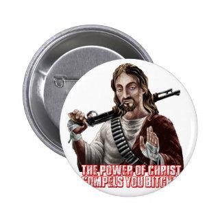 Funny jesus pin