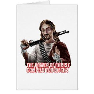 Funny jesus greeting cards