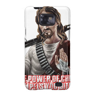 Funny jesus galaxy SII cases