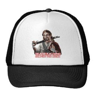 Funny jesus trucker hat