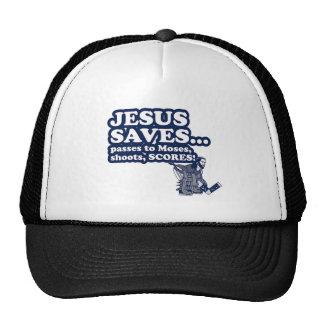 Funny Jesus Hockey Hat