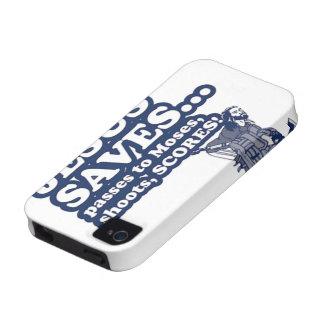 Funny Jesus Hockey iPhone 4/4S Case