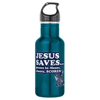 Funny Jesus Hockey 532 Ml Water Bottle
