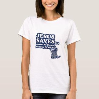 Funny Jesus Hockey T-Shirt