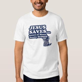 Funny Jesus Hockey T Shirt