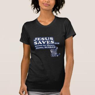 Funny Jesus Hockey Tee Shirts