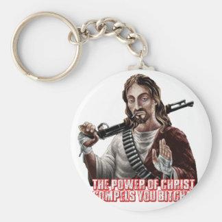 Funny jesus key chain