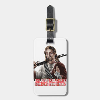 Funny jesus tags for bags