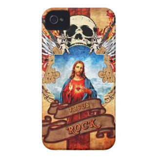 Funny Jesus rock iPhone 4 Case