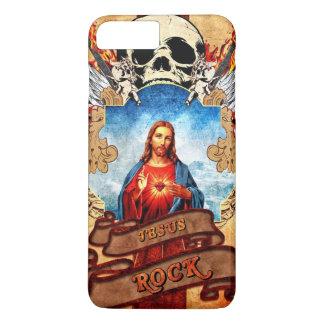 Funny Jesus rock iPhone 8 Plus/7 Plus Case