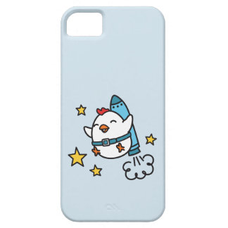Funny Jetpack Chicken Design iPhone 5 Covers