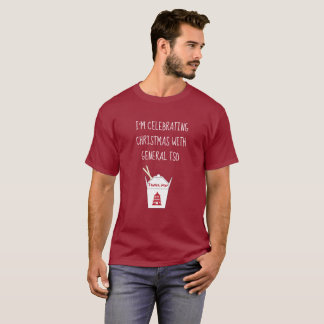 Funny Jewish Christmas Chinese Take Out T-Shirt