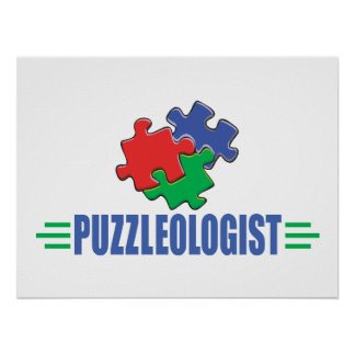 Funny Jigsaw Puzzle Poster