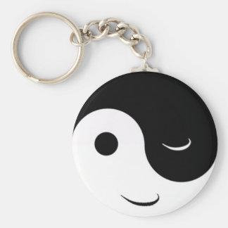Funny Jin Jang Key Ring