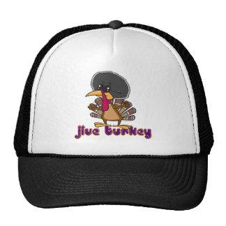 funny jive turkey cartoon with text trucker hats