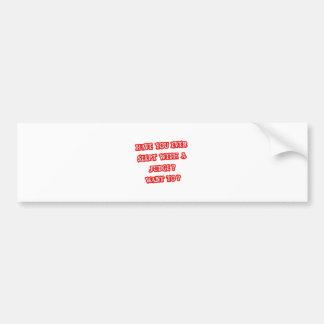 Funny Judge Pick-Up Line Bumper Stickers