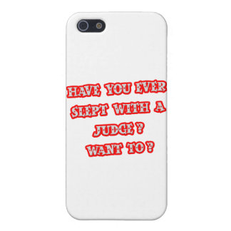 Funny Judge Pick-Up Line Covers For iPhone 5