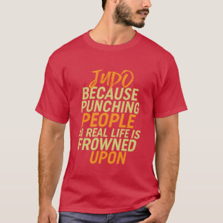 Funny Judo Self Defense Sport T-shirt