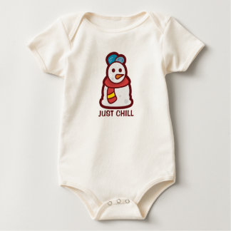 Funny Just Chill Snowman | Bodysuit