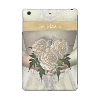 Funny Just Married Bride iPad Mini Case