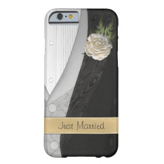 Funny Just Married Groom Barely There iPhone 6 Case