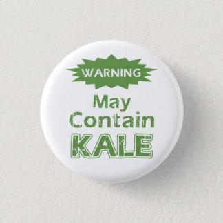 Funny Kale 3 Cm Round Badge
