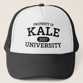 Funny Kale University Vegan Vegetarian Trucker Hat