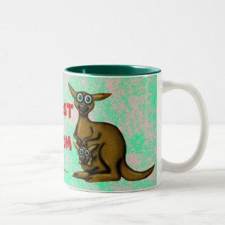 Funny kangaroo mother's day mug