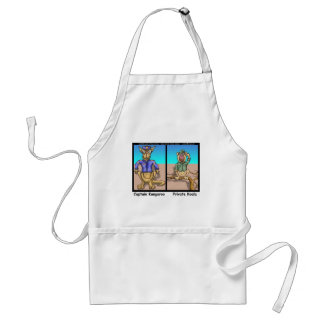 Funny Kangaroos & Koala Funny Cartoon Gifts Tees Adult Apron